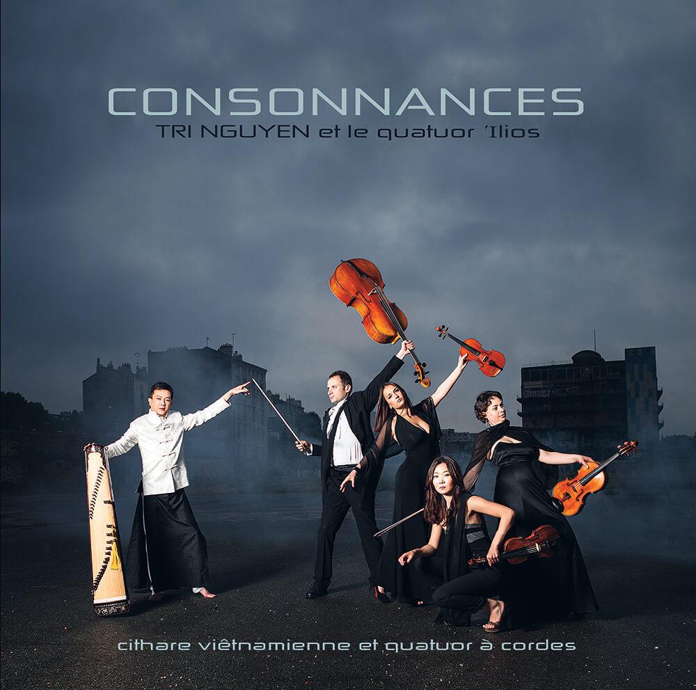 Album Consonnances de Tri Nguyen