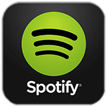 Spotify logo follow